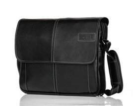 Black men`s shoulder bag S15