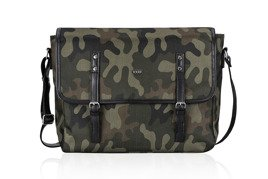 CAMOUFLAGE MEN'S MESSENGER BAG S17