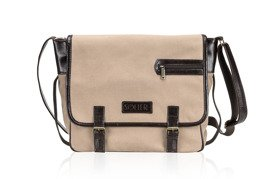Genuine leather shoulder bag Solier SL12 HIKE