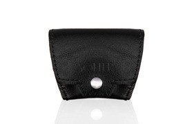 Leather men's coin wallet SOLIER SA10 BLACK
