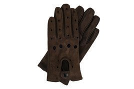 Leather men's gloves Solier SA07