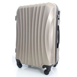 SUITCASE L | 159 ABS CHAMPAGNE