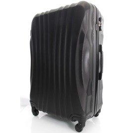 SUITCASE M | 159 ABS BLACK