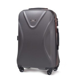 SUITCASE M | 518 ABS GREY