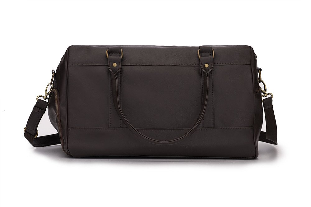 Sport men's weekend bag Solier GOVAN dark brown Dark Brown | Men`s ...