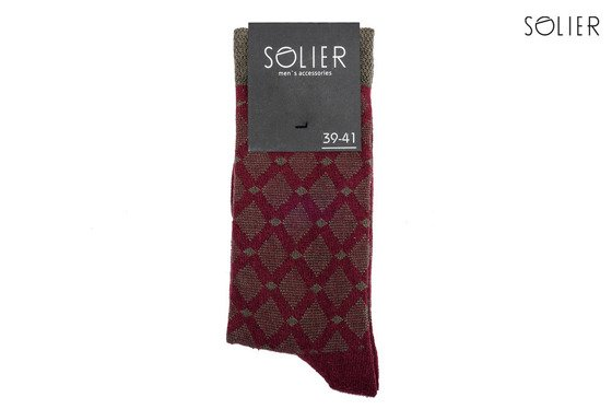 COTTON MEN'S SOCKS SOLIER SS04 - SET OF 2