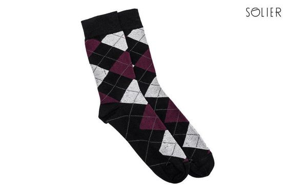 Cotton men's socks Solier SS02