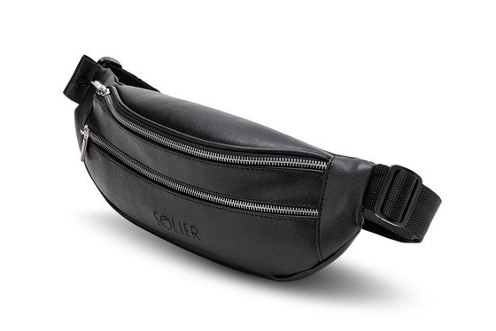 ECO LEATHER WAIST BAG SOLIER SN01