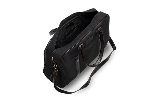 Genuine leather weekend bag Solier SL16 HIKE