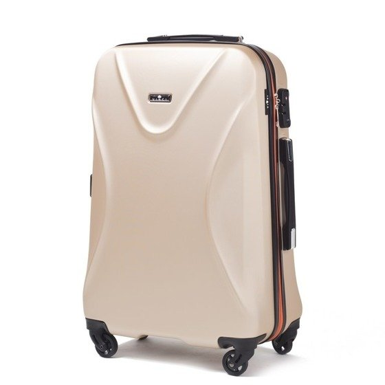 SUITCASE M | 518 ABS CHAMPAGNE
