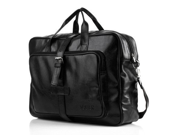 Black sholuder bag S10 vintage Black  Bags and accessories  Men`s bags  Messenger bags Solier ...