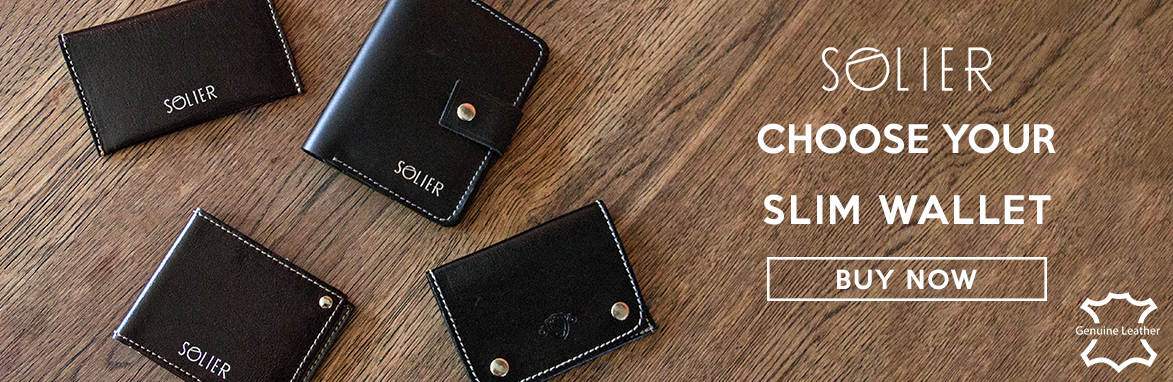 Choose your slim wallet