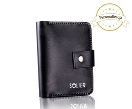 Personal genuine leather slim wallet SW17