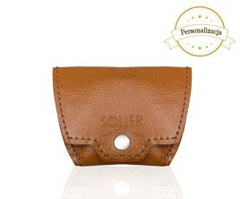 Personalised genuine leather coin wallet SA10