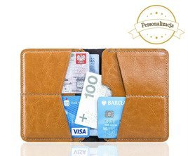 Personalised genuine leather men's wallet SW10