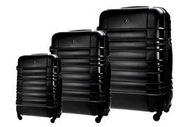 SUITCASE SET | STL838 ABS BLACK