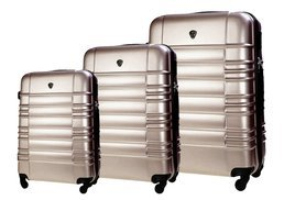 SUITCASE SET | STL838 ABS CHAMPAGNE