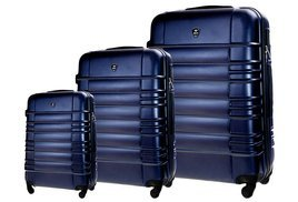 SUITCASE SET | STL838 ABS NAVY