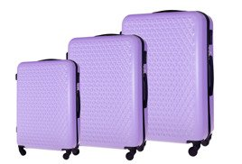 SUITCASE SET | STL870 ABS PURPLE