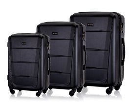 SUITCASE SET | STL946 ABS BLACK