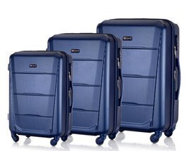 SUITCASE SET | STL946 ABS NAVY