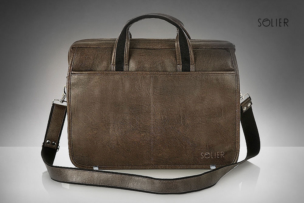 f54f9cd9a2 ... Brown shoulder laptop bag S13 Click to zoom ...