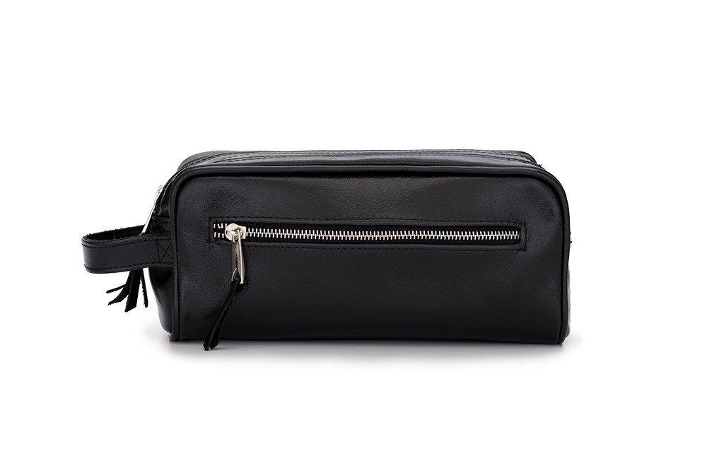 dfd5be51ea60 Elegant leather men's beauty bag SOLIER SZETLAND