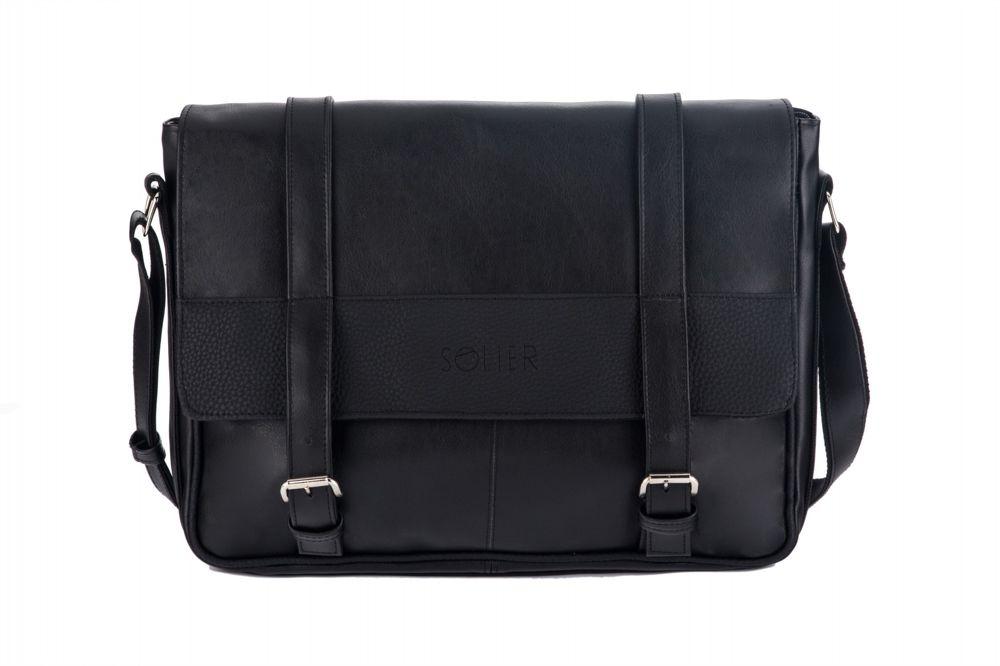 09c545c3645f9 MEN S SHOULDER BAG SOLIER S30 BLACK Click to zoom ...