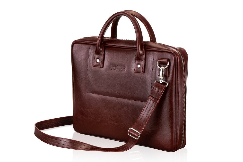 5b4a0427b7 PERSONALISED GENUINE LEATHER BAG SL21 BELFAST Click to zoom ...