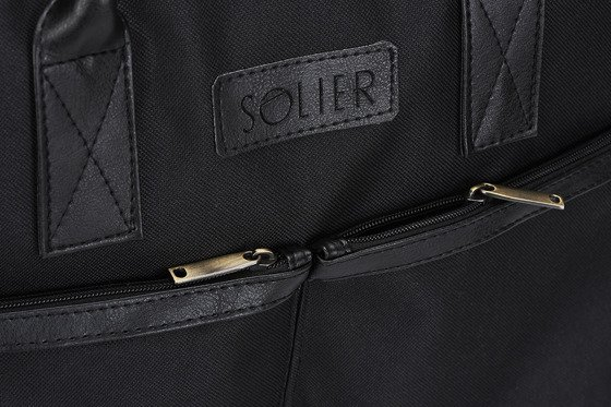 BLACK SHOULDER LAPTOP BAG SOLIER S23 LIMERICK