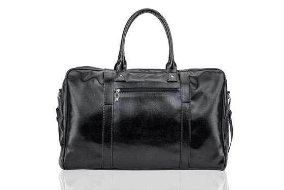 Black men's weekend bag SOLIER S16