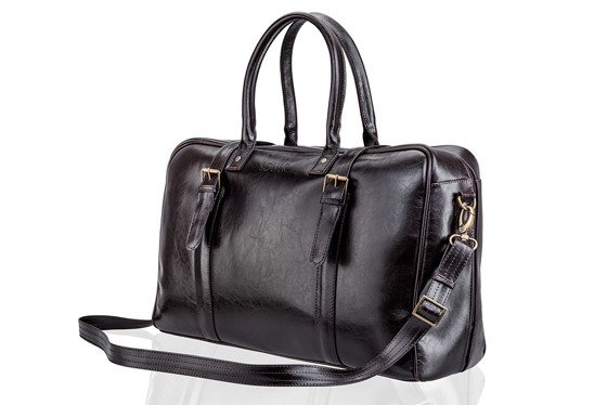 Brown men`s weekend bag HAMILTON
