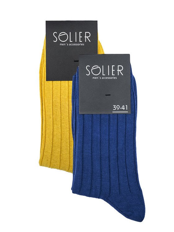 COTTON MEN'S SOCKS SOLIER SS01 - SET OF 2