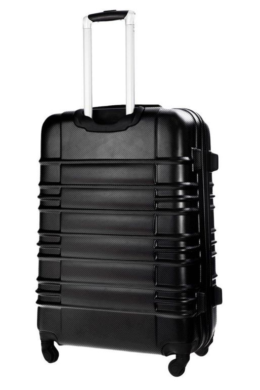 Cabin luggage ABS 55x37x24cm STL838 black