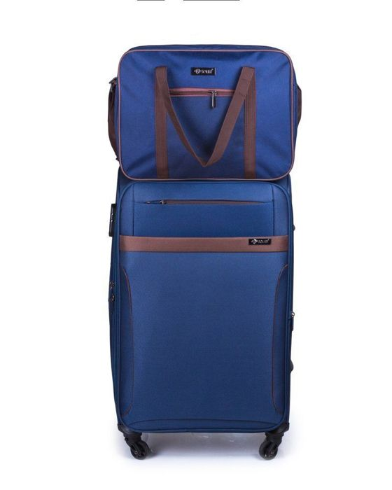 Cabin luggage Ryanair Solier STB01 navy-brown