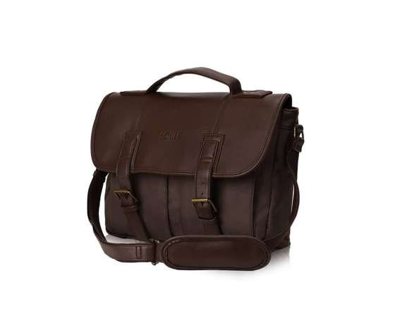 Casual urban shoulder bag LANARK brown