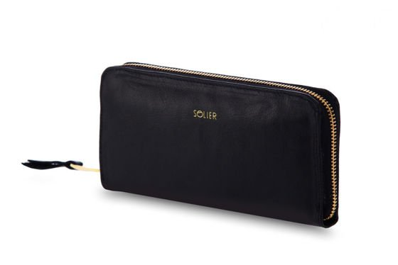 Elegant Women's leather wallet Solier P02