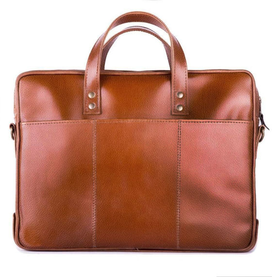 GENUINE LEATHER SHOULDER BAG SL04 WATERFORD VINTAGE BROWN