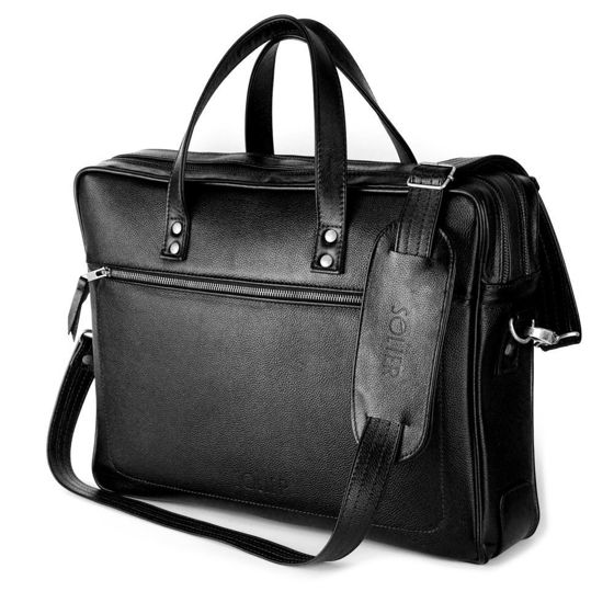 GENUINE LEATHER SHOULDER BAG SL05 NEWBRIDGE BLACK