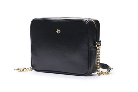 Genuine leather women's crossbody Florence black