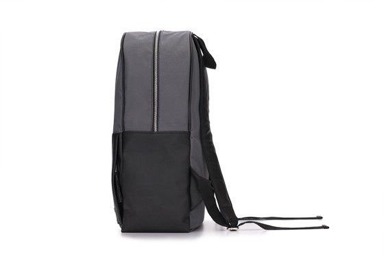 Grey-black men's backpack  Solier FORRES
