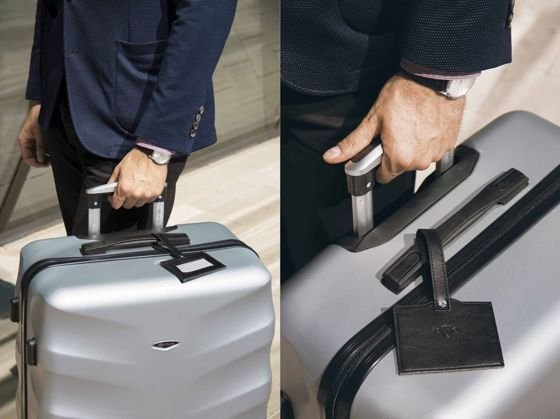 LARGE SUITCASE L | STL310 ABS CORAL