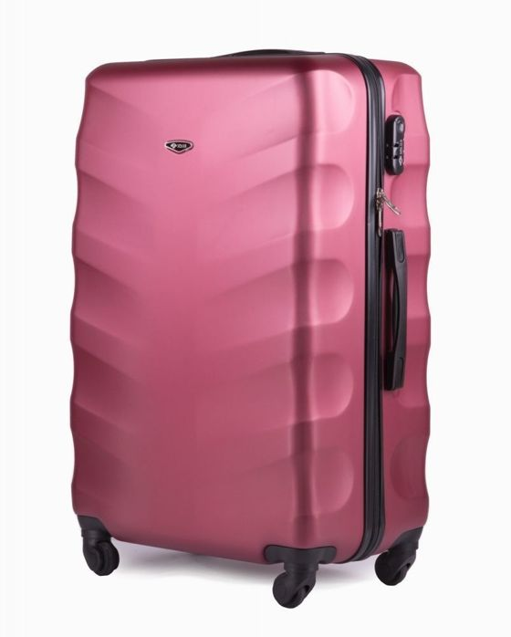 LARGE SUITCASE L | STL402 ABS WINE