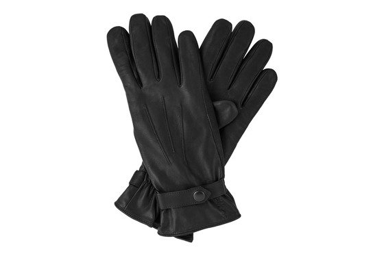 Leather men's gloves Solier SA06