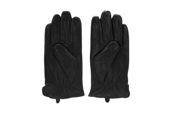 Leather men's gloves Solier SA16