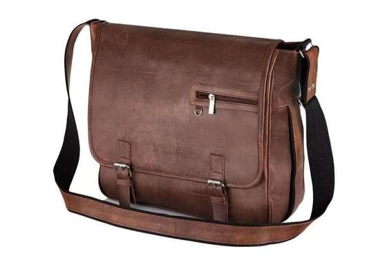 Light brown shoulder laptop bag Solier S12