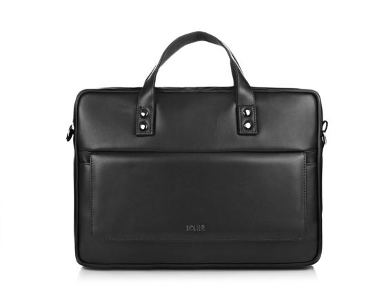 MEN'S SHOULDER BAG SOLIER S32 WESTPORT BLACK MAT