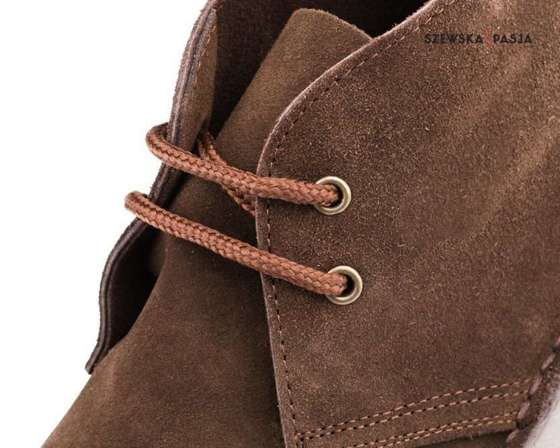 Men's stylish leather suede Chukka shoes/boots brown