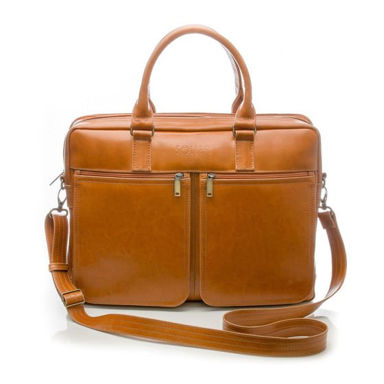 PERSONALISED GENUINE LEATHER BAG SL01 DUNDEE