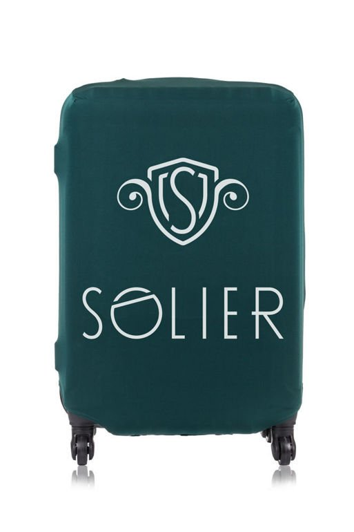 PROTECTIVE luggage cover SA22 GREEN